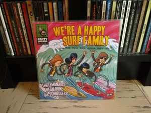 We're A Happy Surf Family 7''