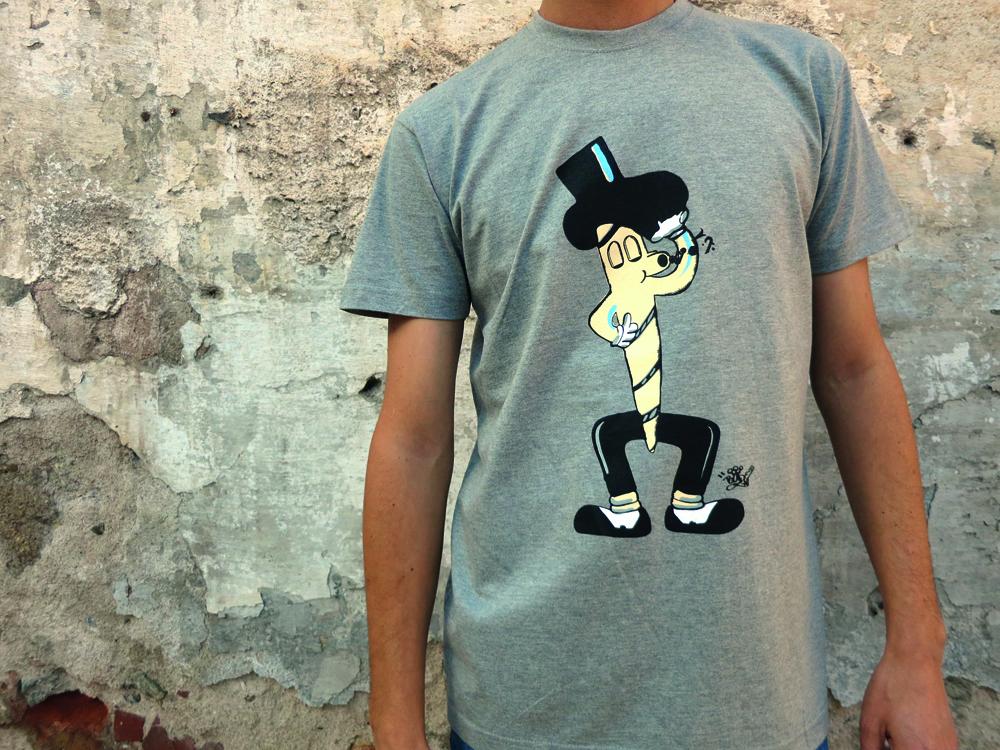 Jointman Print & Tshirt by Steven Ogburn aka Blade