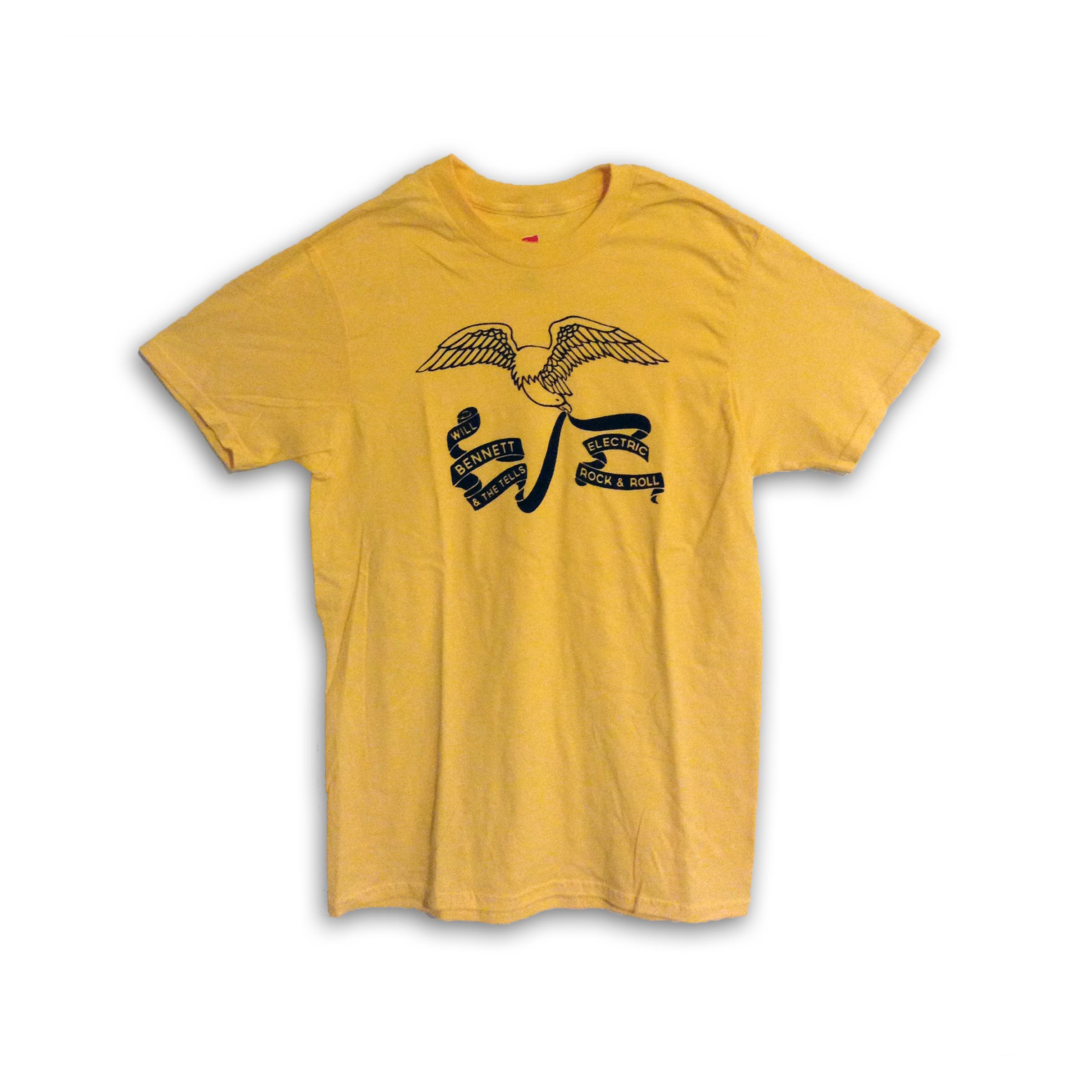 Hand-Printed Eagle T-Shirt