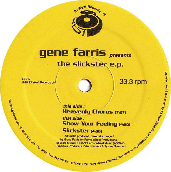 Gene Farris – The Slickster E.P. (83 West Records)