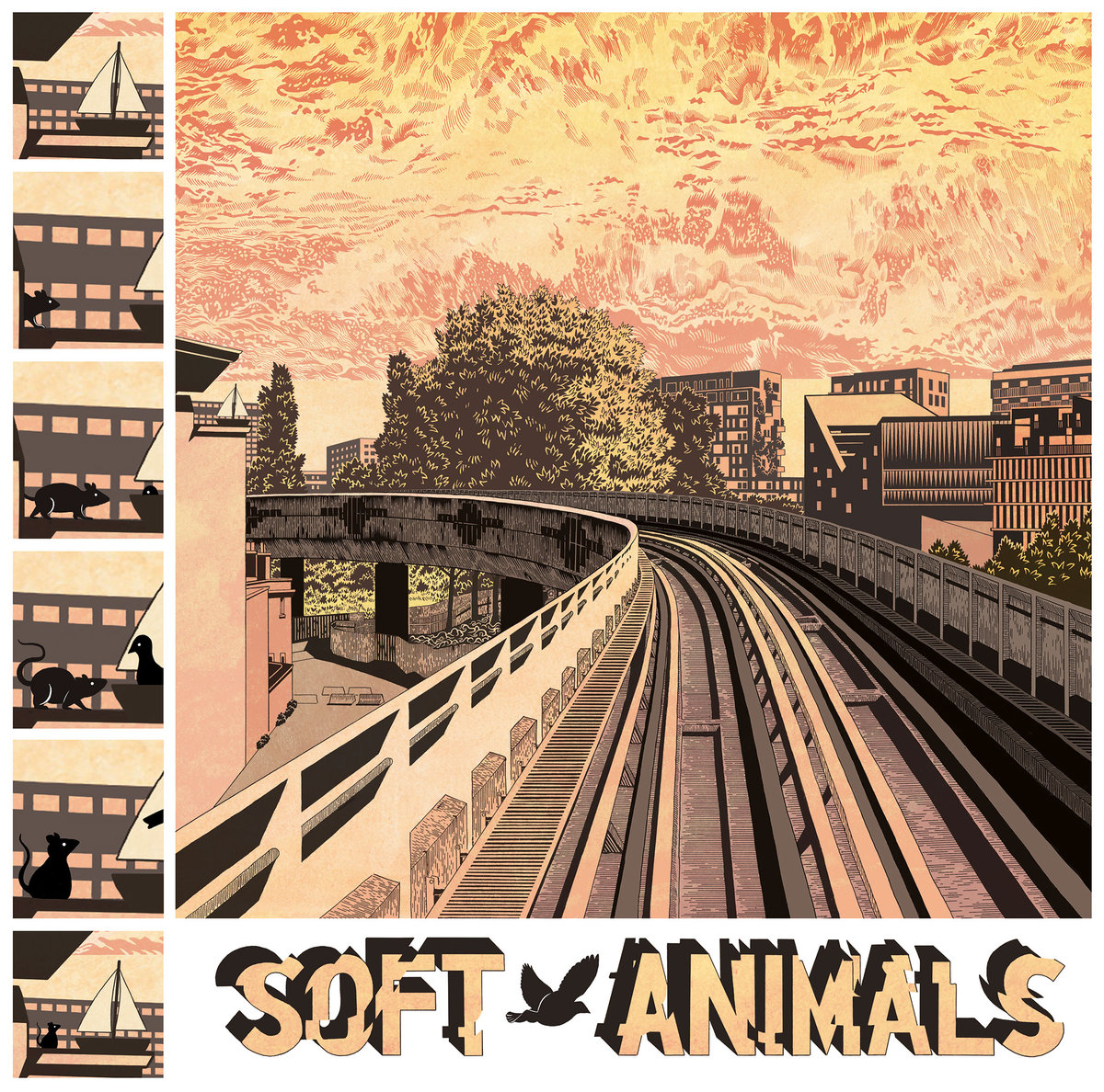Soft Animals - Soft Animals LP
