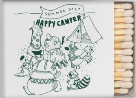 Happy Camper Matchbox