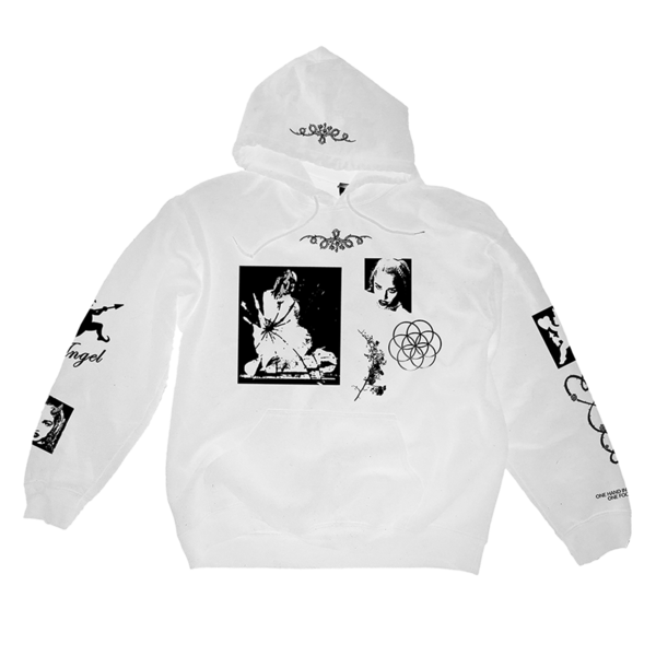 God Is Wild Tour Hoodie - White