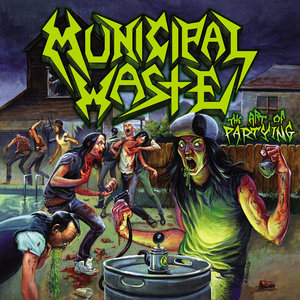 Municipal Waste - The Art Of Partying LP