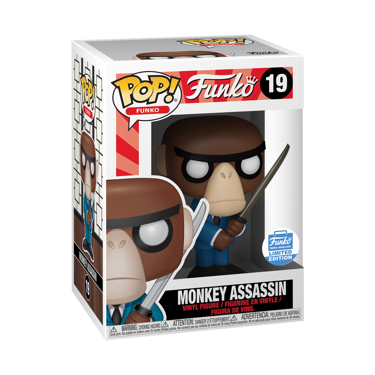 Monkey Assassin Funko Pop