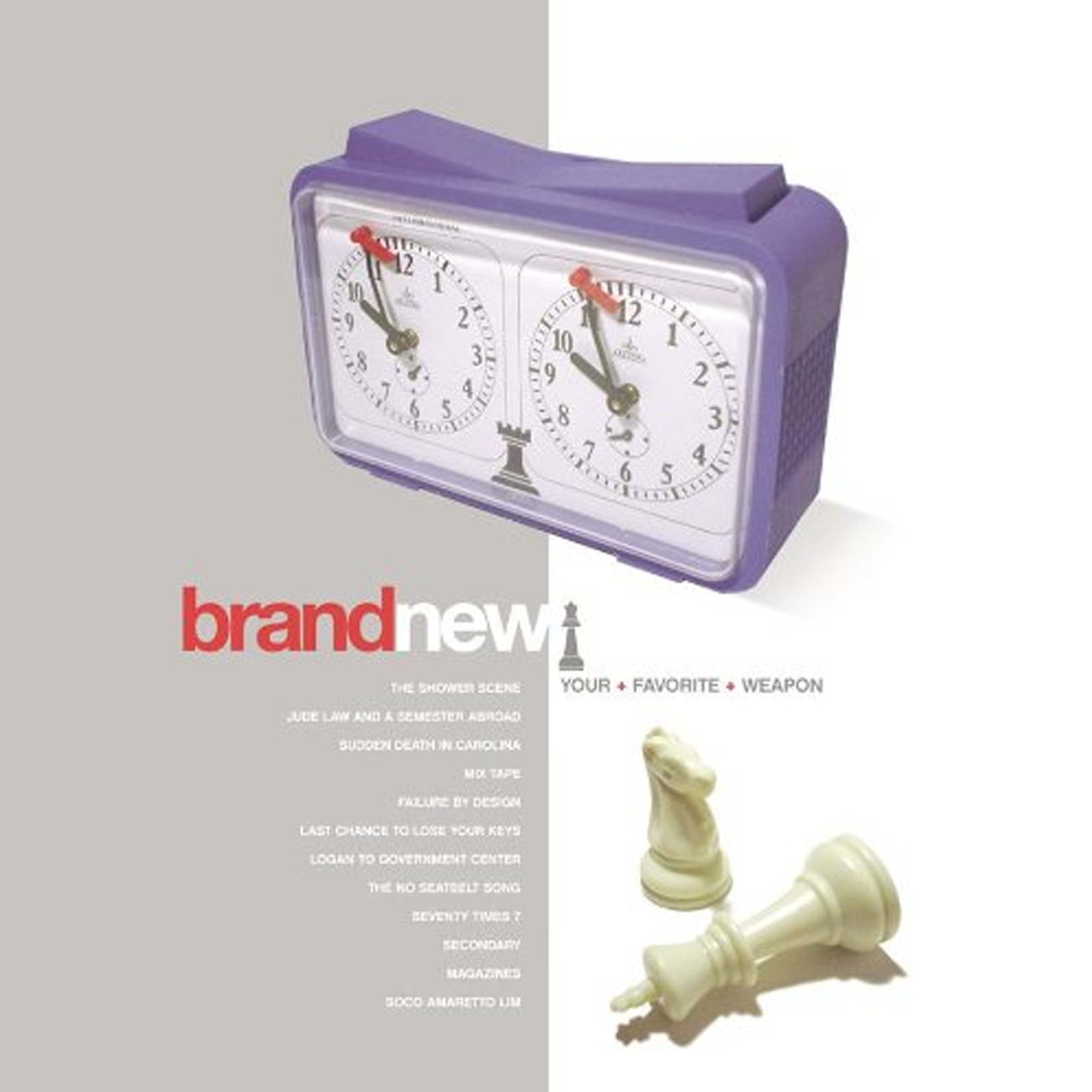 Brand New Your Favorite Weapon - CD