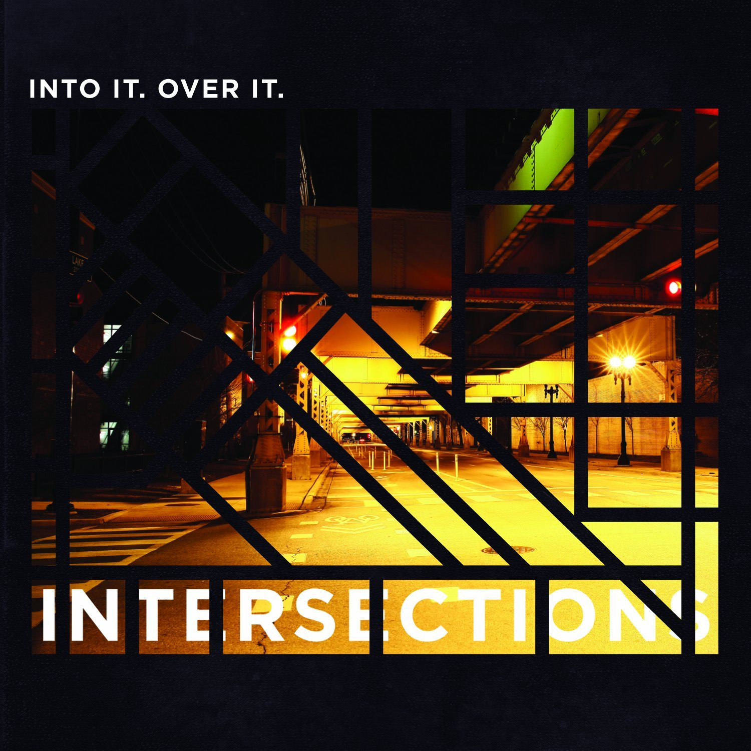 Into It. Over It.  - Intersections - Limited Edition Black/Clear/Black Splatter Vinyl