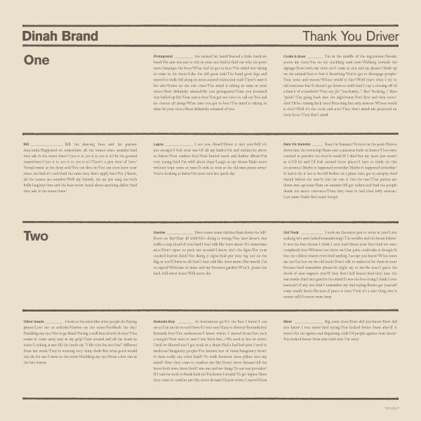 Dinah Brand - Thank You Driver