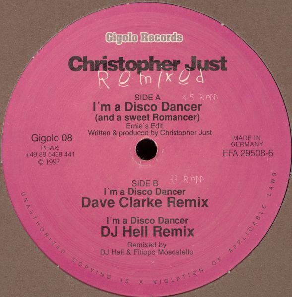 Christopher Just – I'm A Disco Dancer (And A Sweet Romancer) Remixed (International Deejay Gigolos)