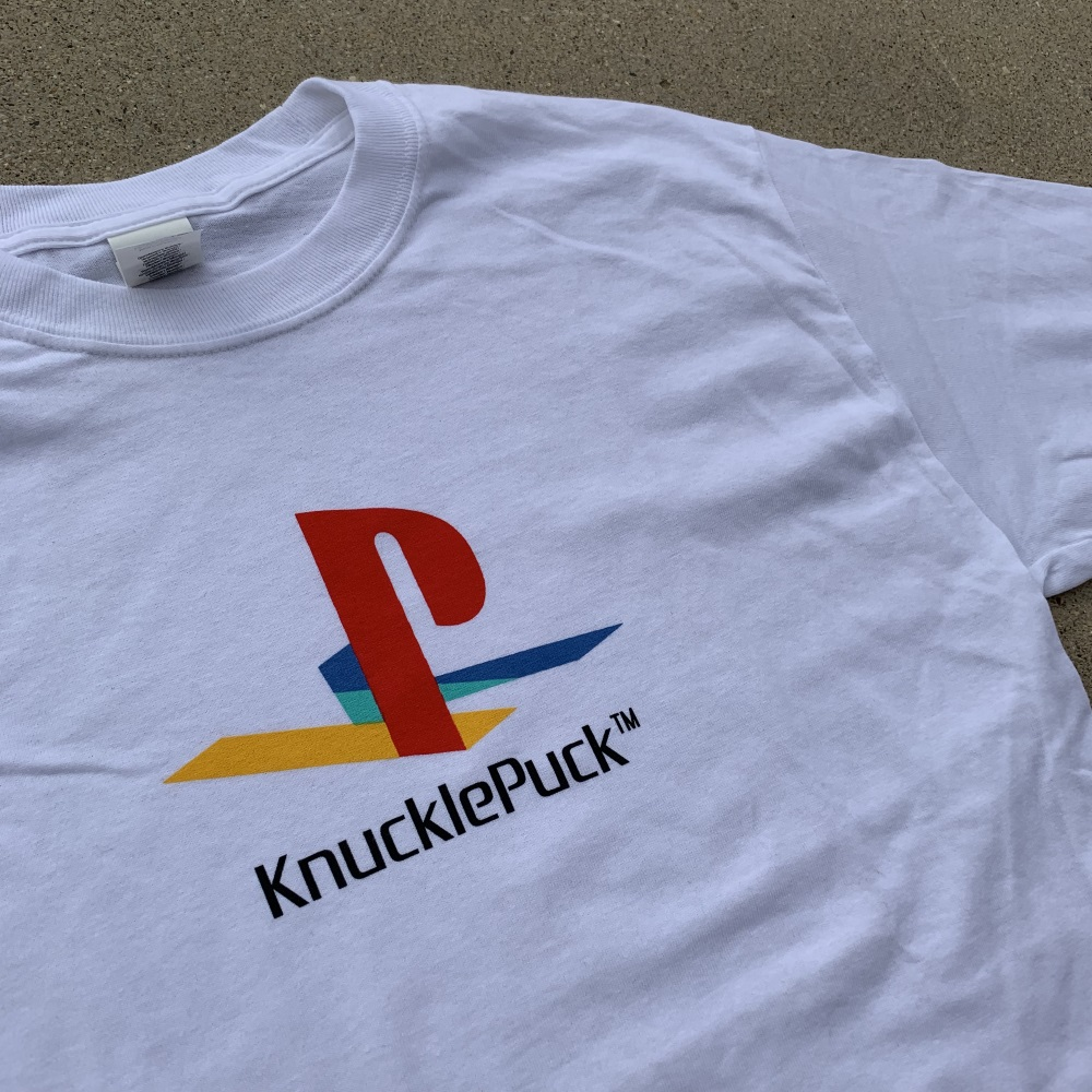 Playstation Long Sleeve Tee (White)