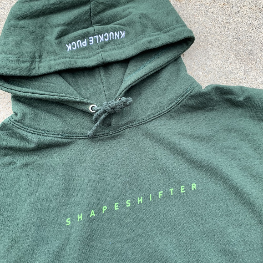 Green Shapeshifter Hoodie