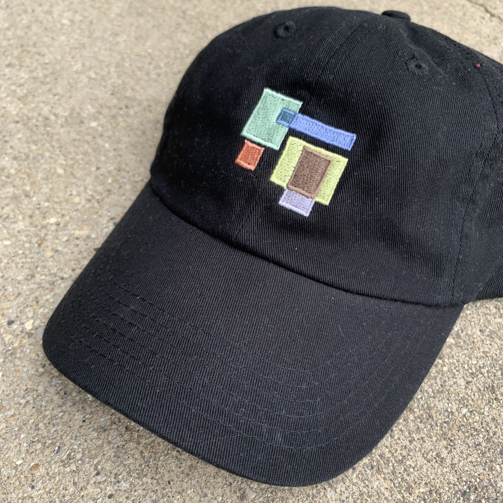 Shapes Hat (black)