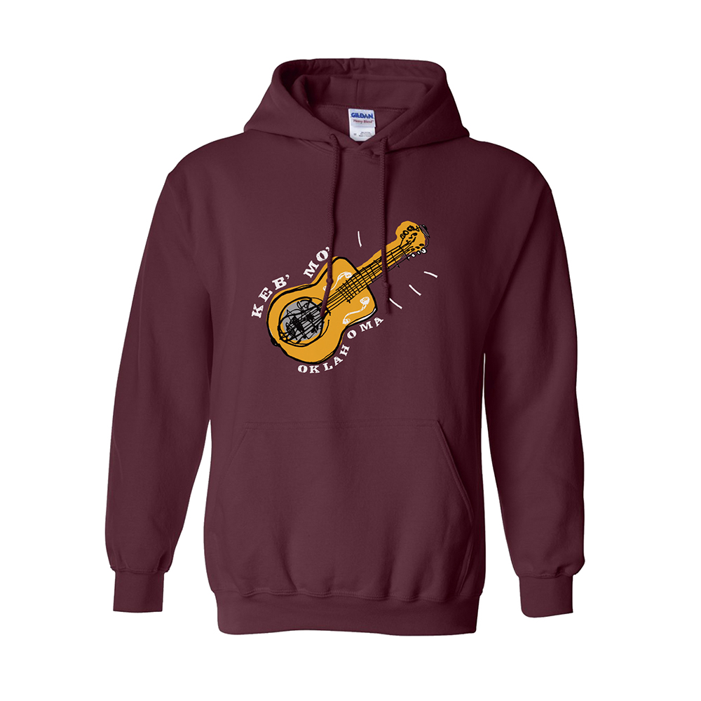 Oklahoma Maroon Heavyweight Hoodie + Vinyl/CD/Download (optional)