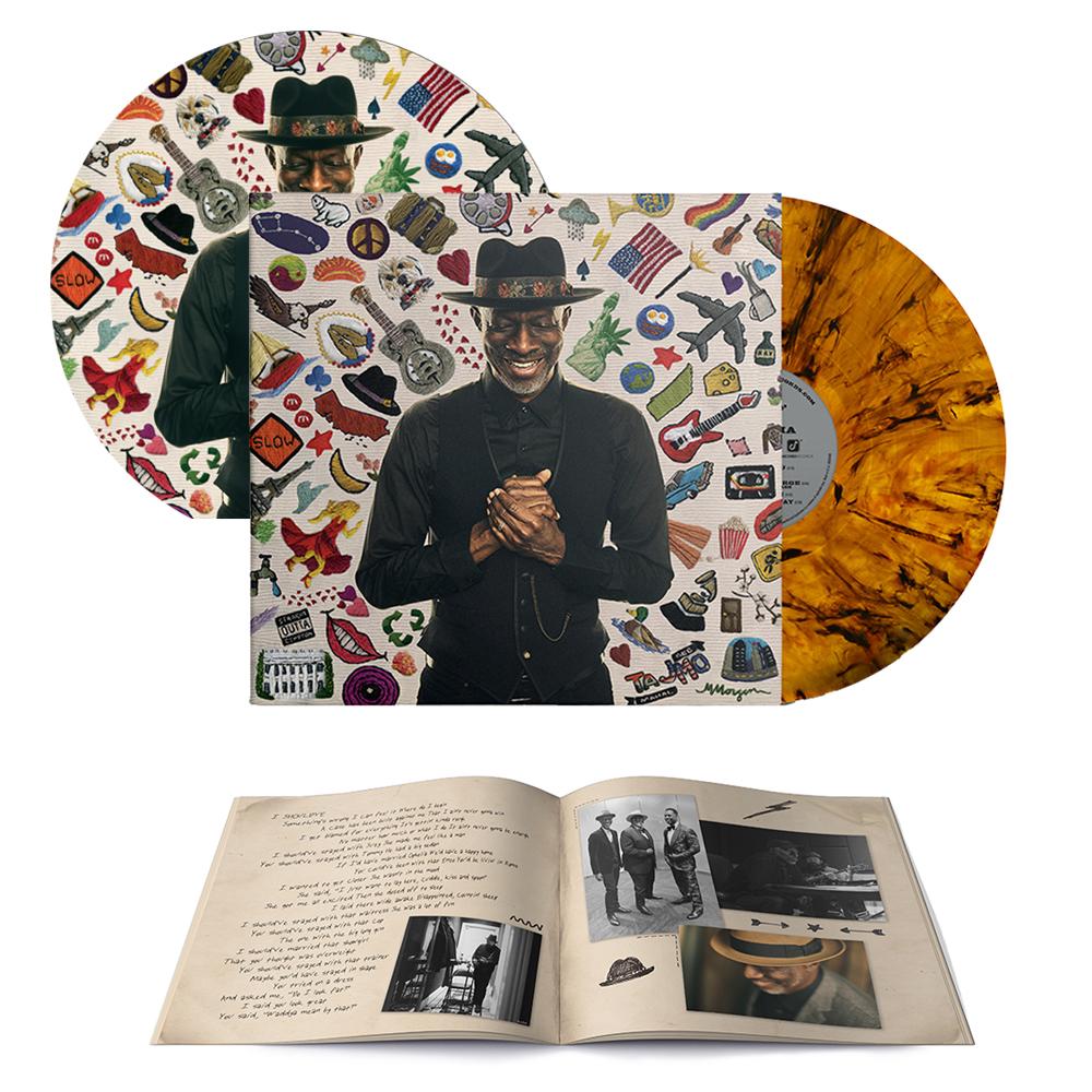 Soft Stuff Signed CD or Signed Tiger's Eye Marble Vinyl LP Bundle