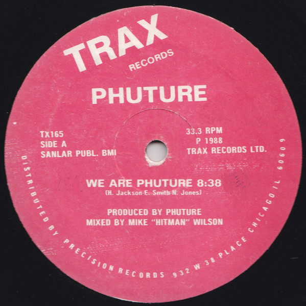 Phuture ‎– We Are Phuture (Trax Records)