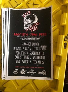 DEATH PROTECTOR FEST - SCREEN PRINTED POSTER