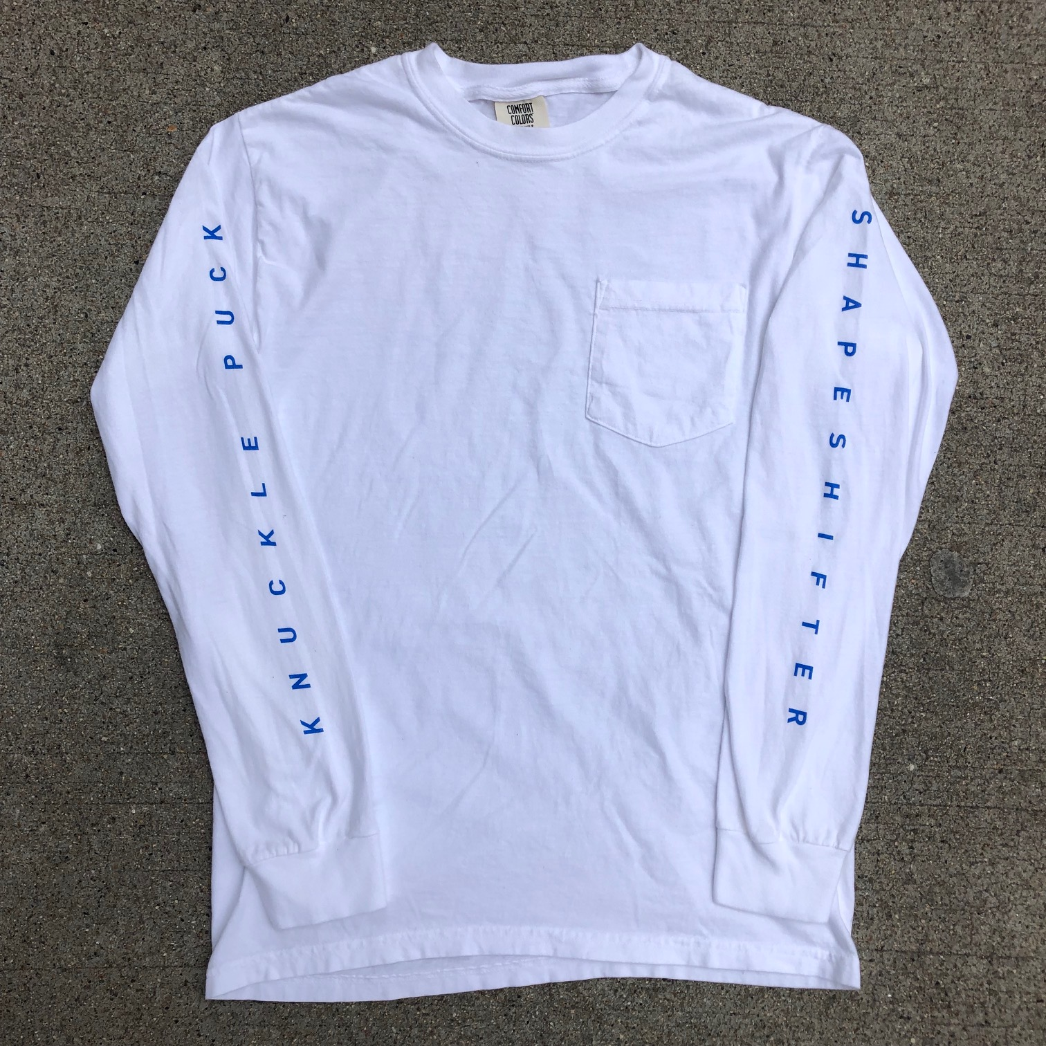 Shapeshifter Pocket Long Sleeve (white)