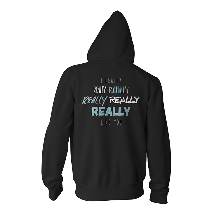 I Really Like You Hoodie