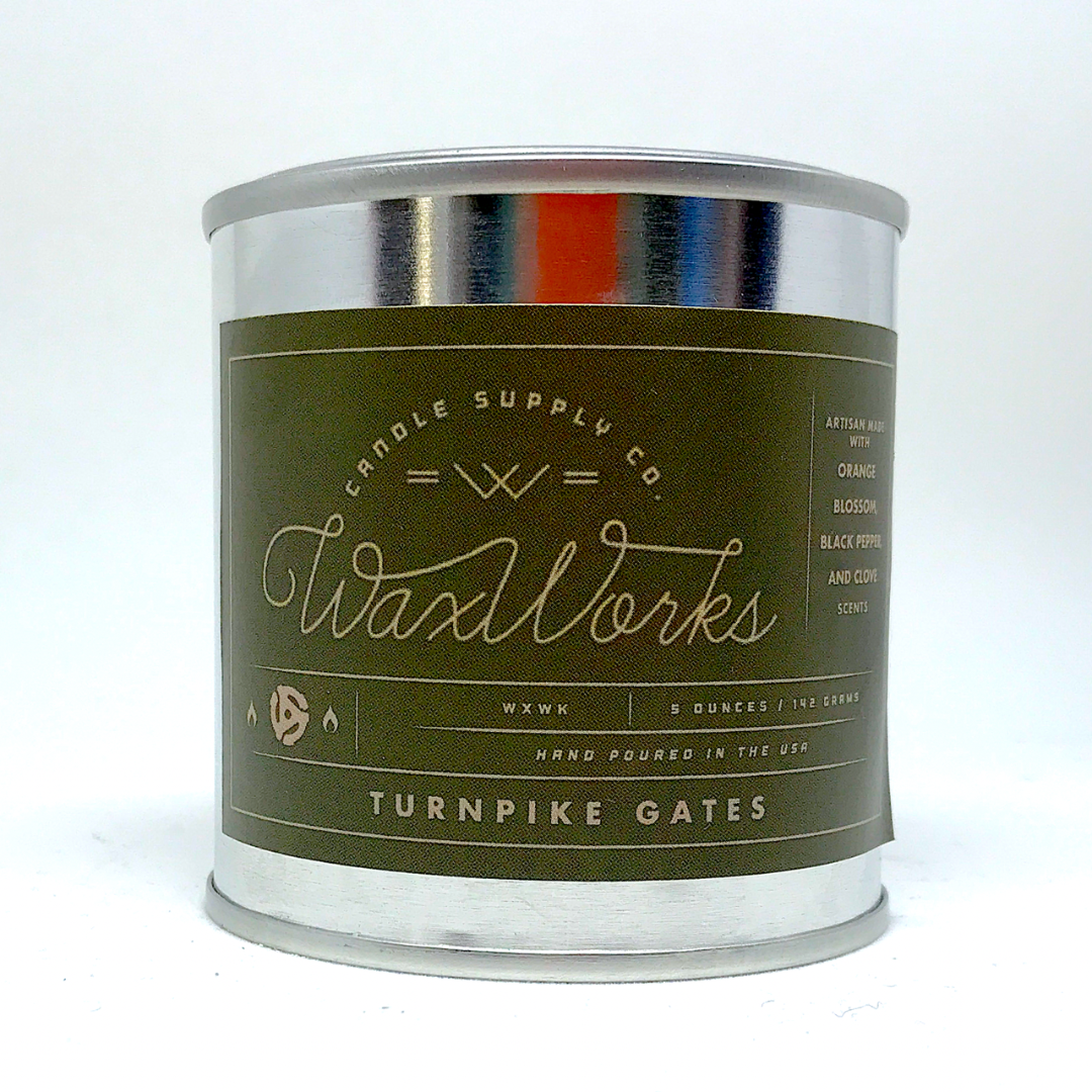 Turnpike Gates Candle