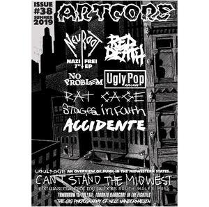 Artcore Fanzine - Issue 38 (Summer 2019) + bonus 7