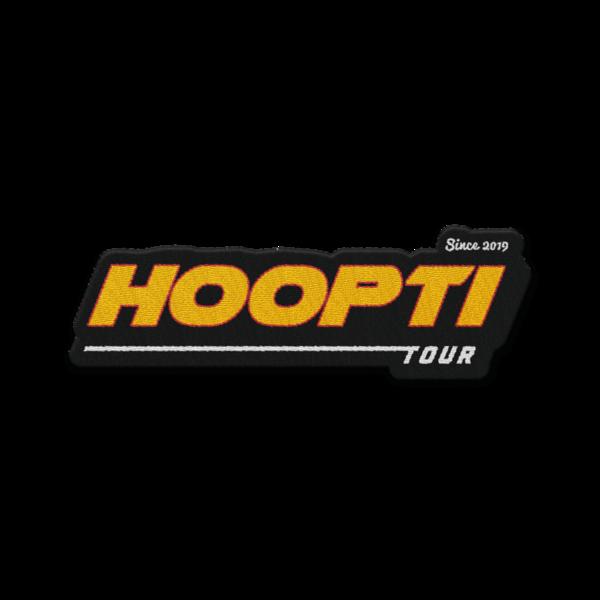 Hoopti Tour Patch