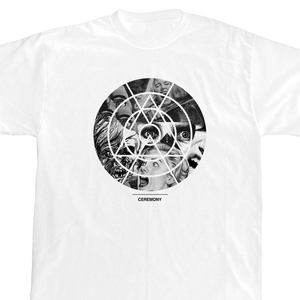 Ceremony 'Horror Circle' White T-Shirt