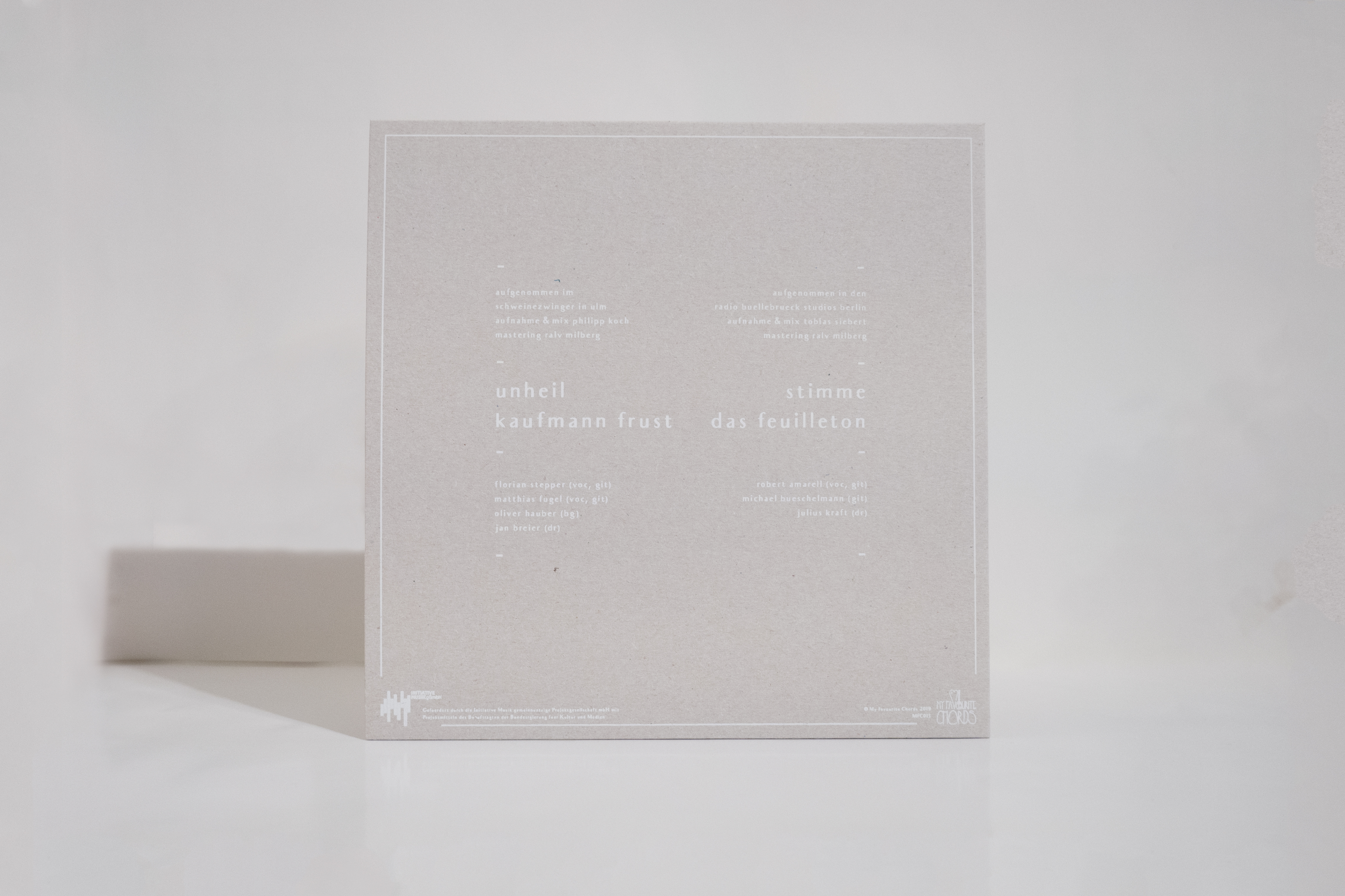 Kaufmann Frust / Das Feuilleton - Split 7