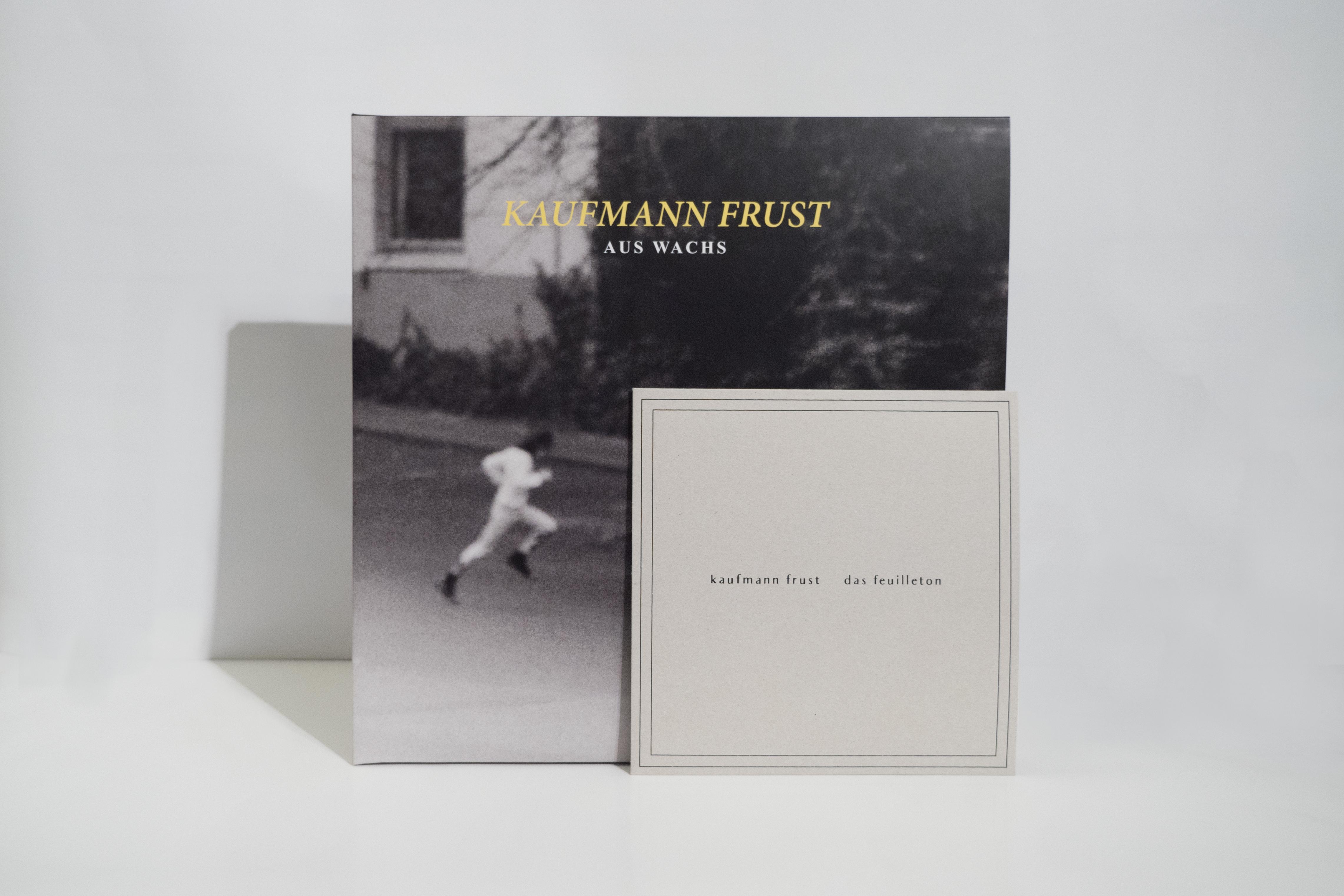 Kaufmann Frust - Aus Wachs LP + Kaufmann Frust / Das Feuilleton - Split 7