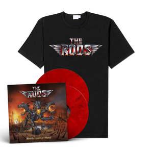 The Rods - Brotherhood of Metal (LP + Shirt