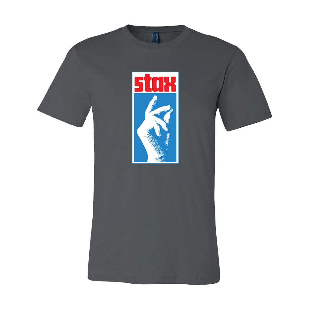 Stax Classic Snap Logo Shirt (asphalt blue)