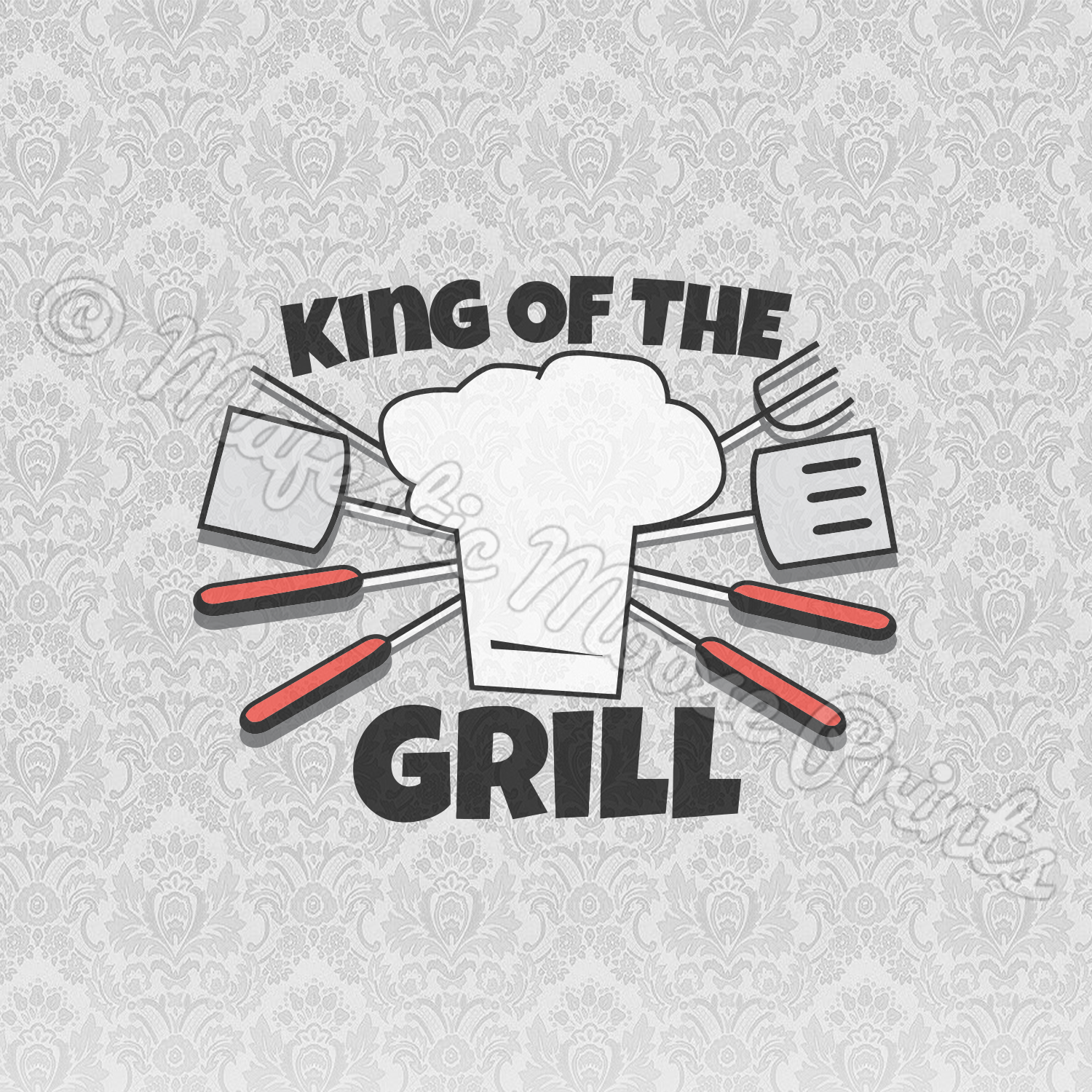 Free The walking dad svg, daddy svg, dad svg, father day svg cut table design,svg,dxf,png use with silhouette studio & cricut_instant download the cut files include one. King Of The Grill Svg Father S Day Svg Majestic Moose Prints SVG, PNG, EPS, DXF File