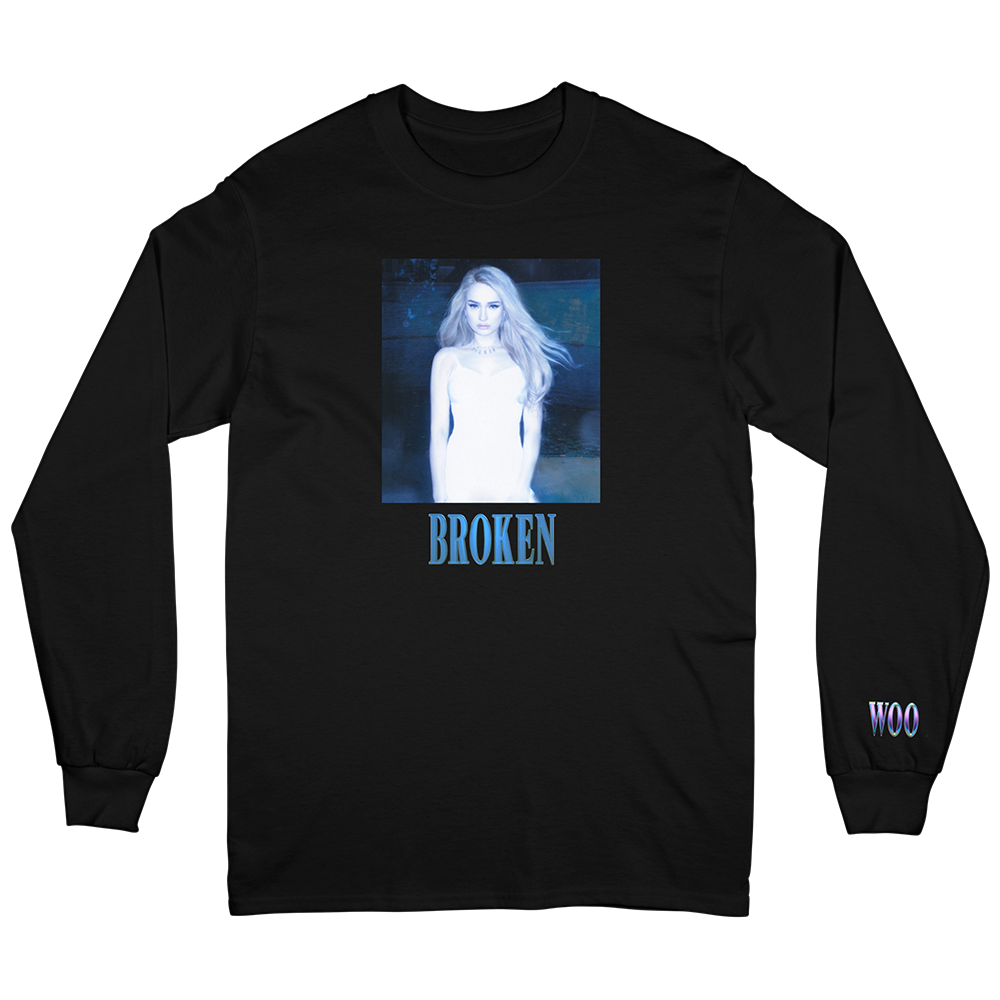 Broken Long Sleeve (black)