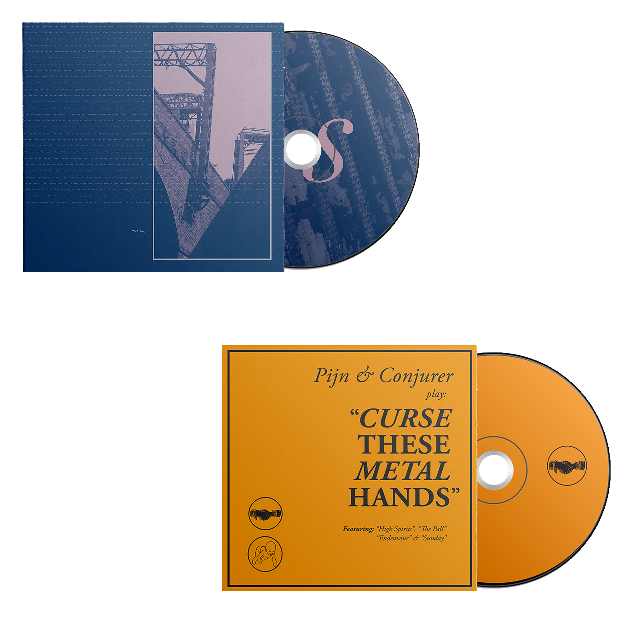 Curse These Metal Hands S/T + Pijn Loss