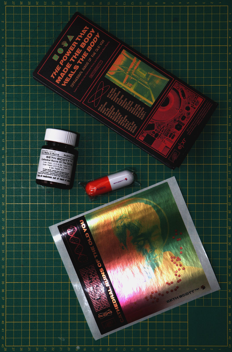 Seth Scott™ / Cathedral Ruins... - Medication Supply + Self-Help Poster