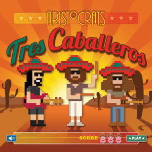 The Aristocrats TRES CABALLEROS DELUXE EDITION CD & DVD