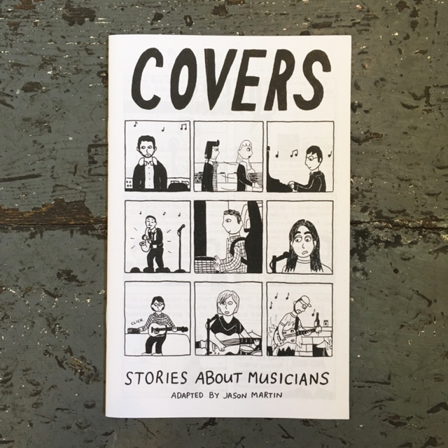Covers #1: Stories About Musicians