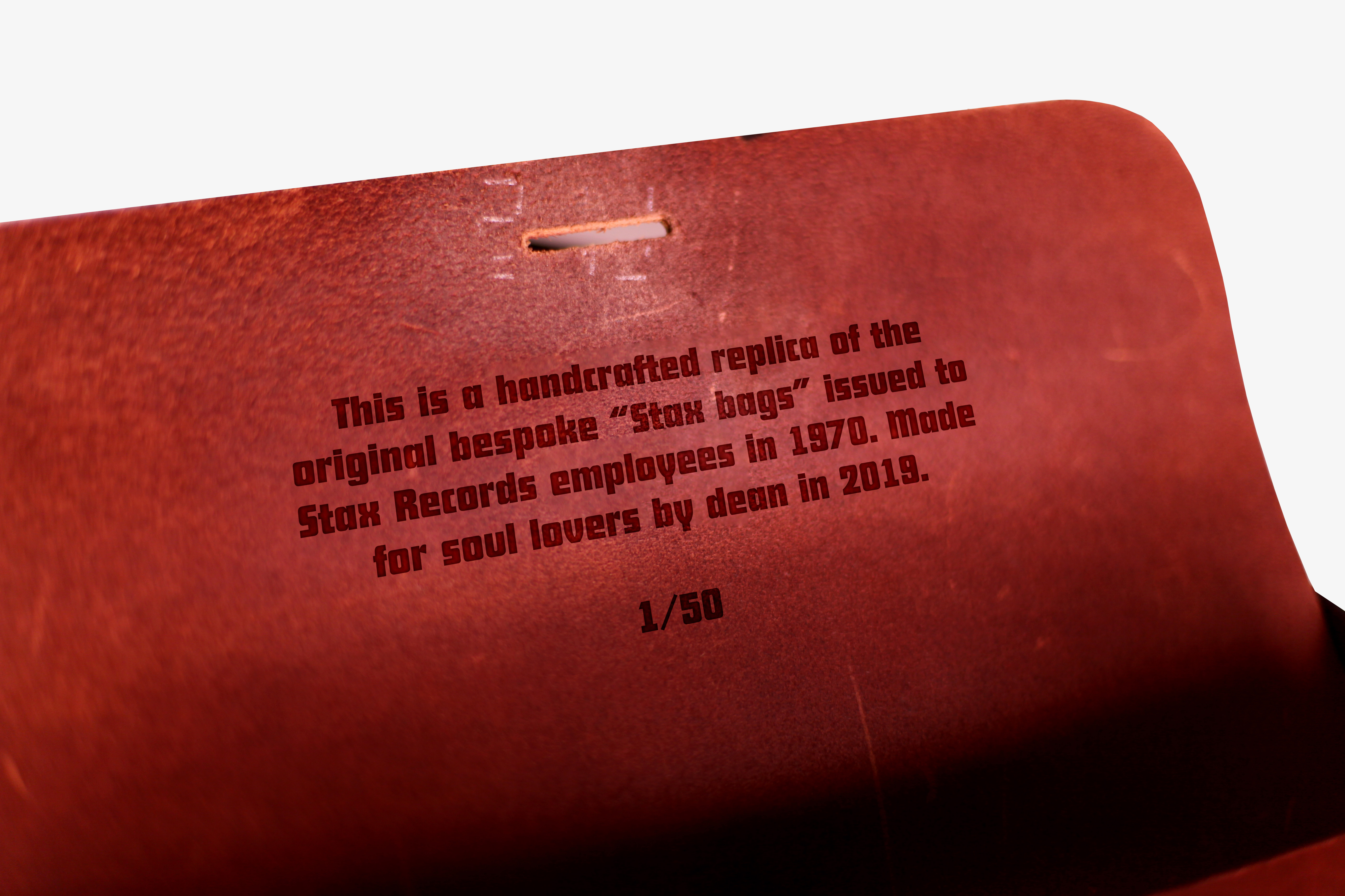 Stax Handcrafted Leather DJ Bag (Limited)