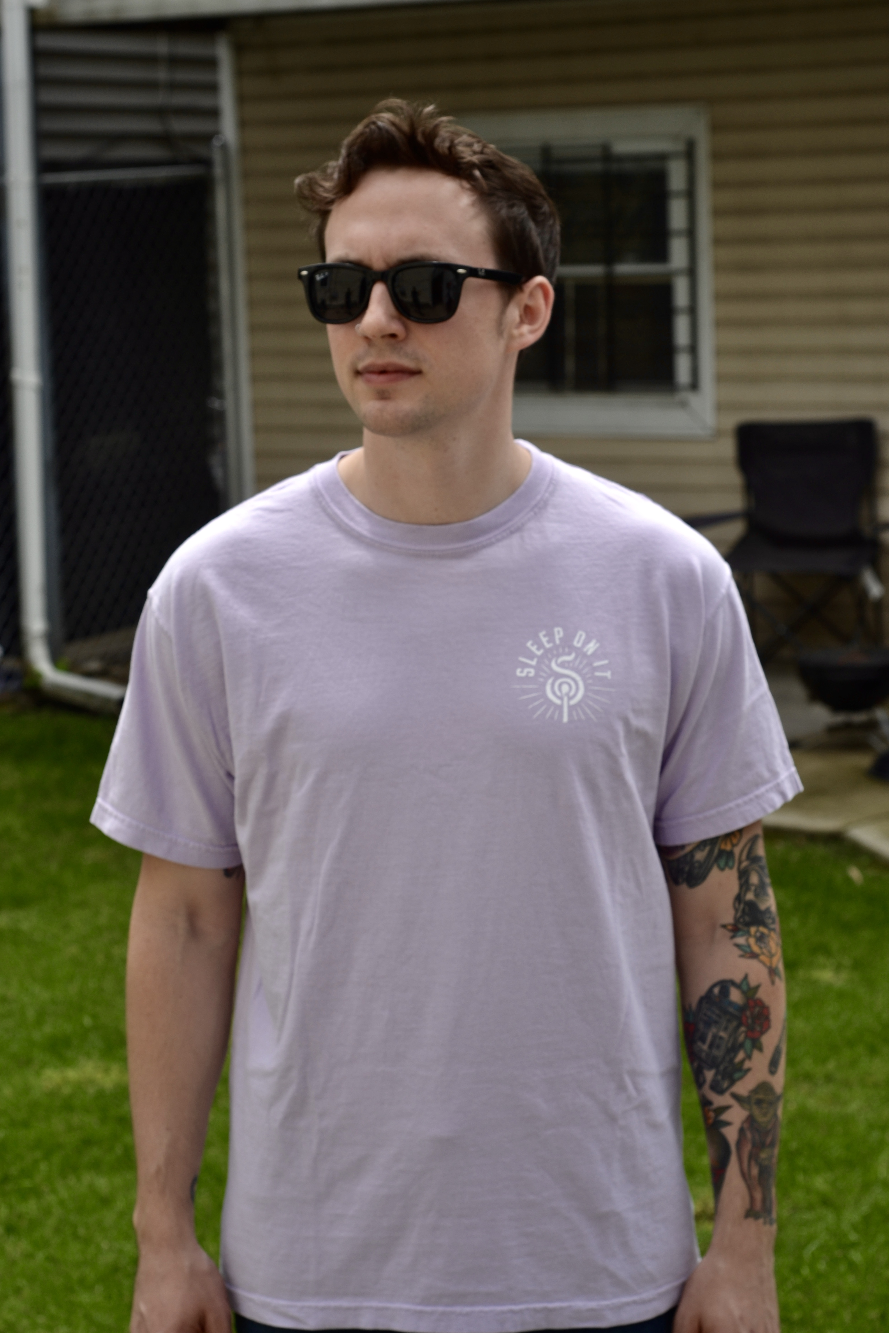 Orchid Over Exposed Tee