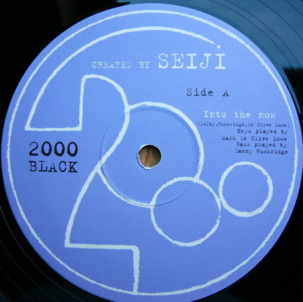 Seiji ‎– Into The Now (2000 Black)