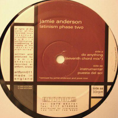 Jamie Anderson – Latinism Phase Two (Artform)