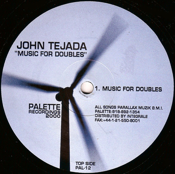 John Tejada ‎– Music For Doubles (Palette Recordings)
