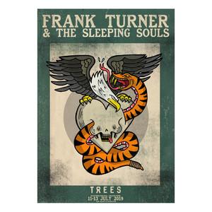 Frank Turner 2019 - exclusive print