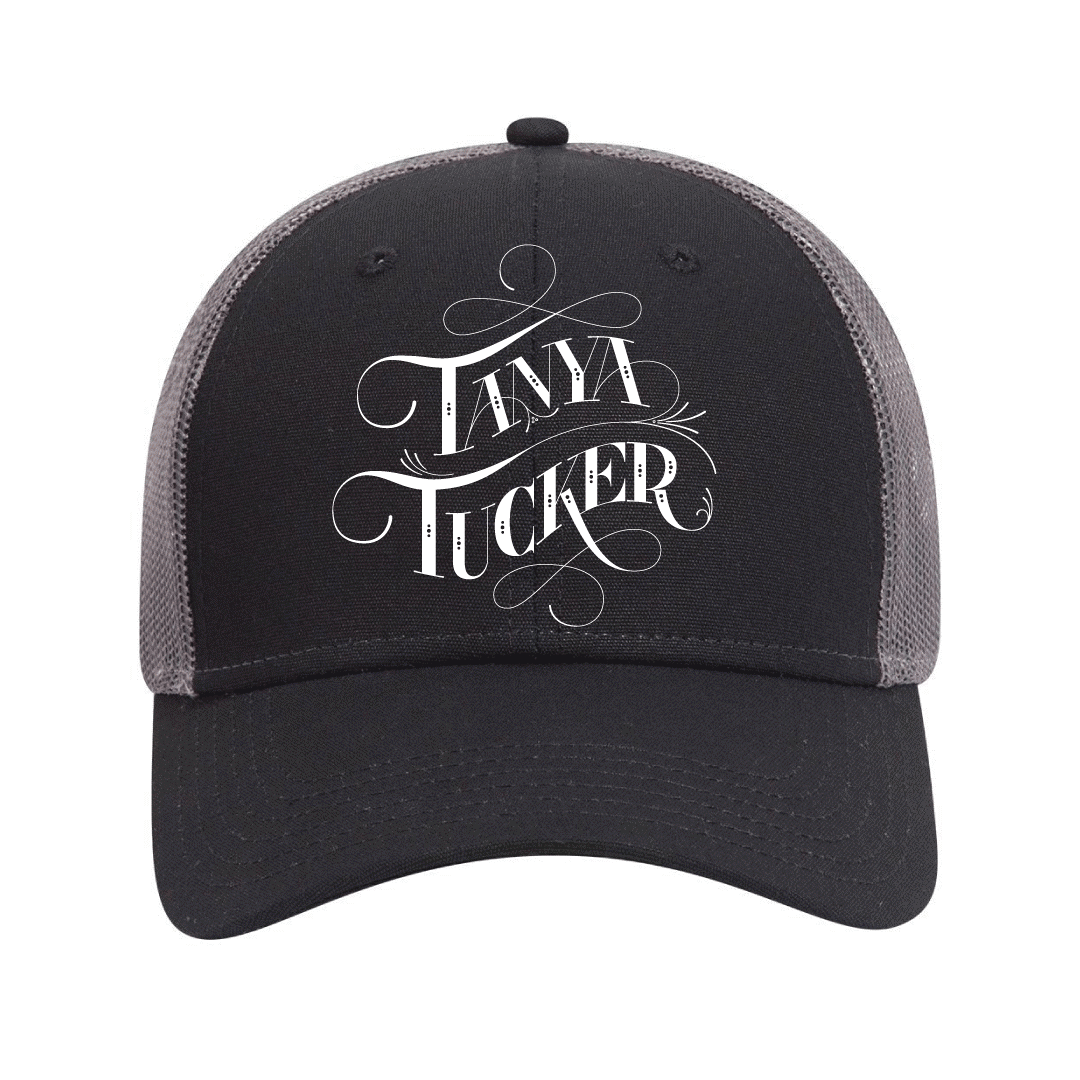 Embroidered Trucker Canvas Cap + Vinyl/CD/Album Download (optional)