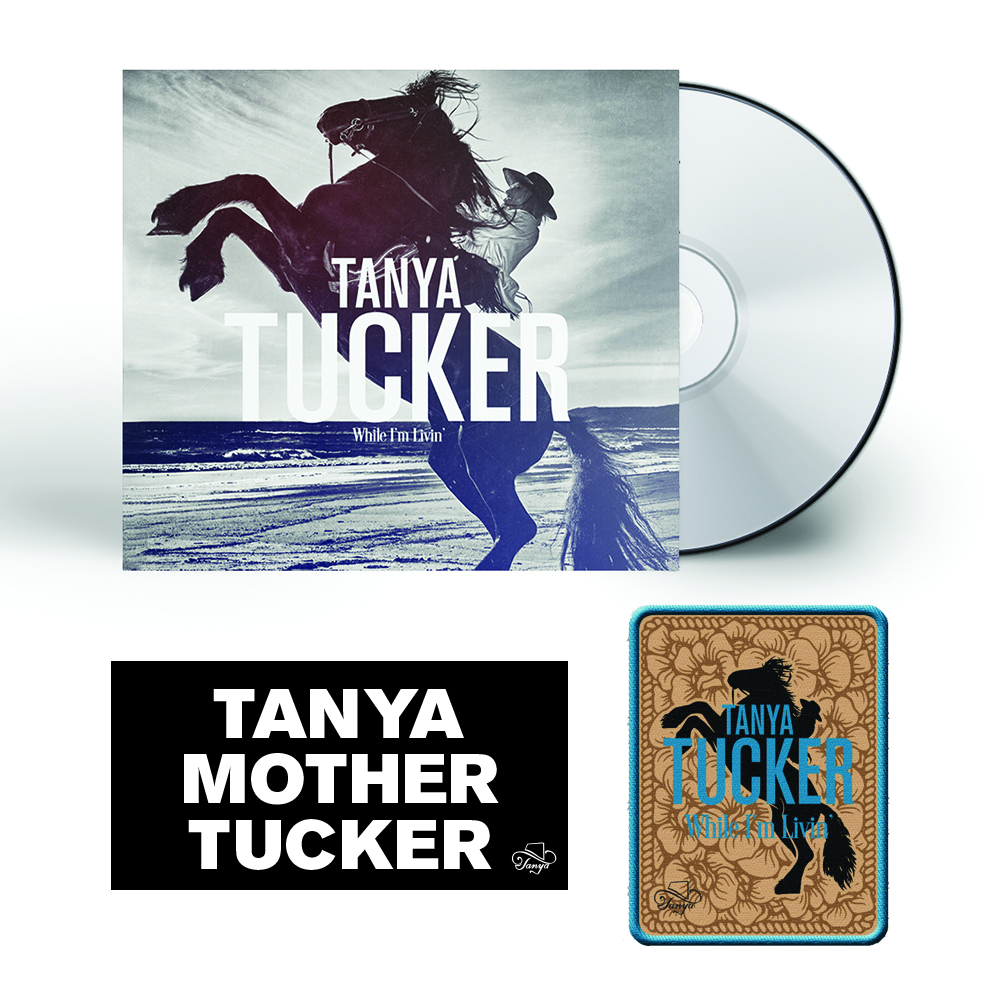 """Signed or Unsigned CD + Woven Patch (4"""" x 3"""") + Bumper Sticker"""