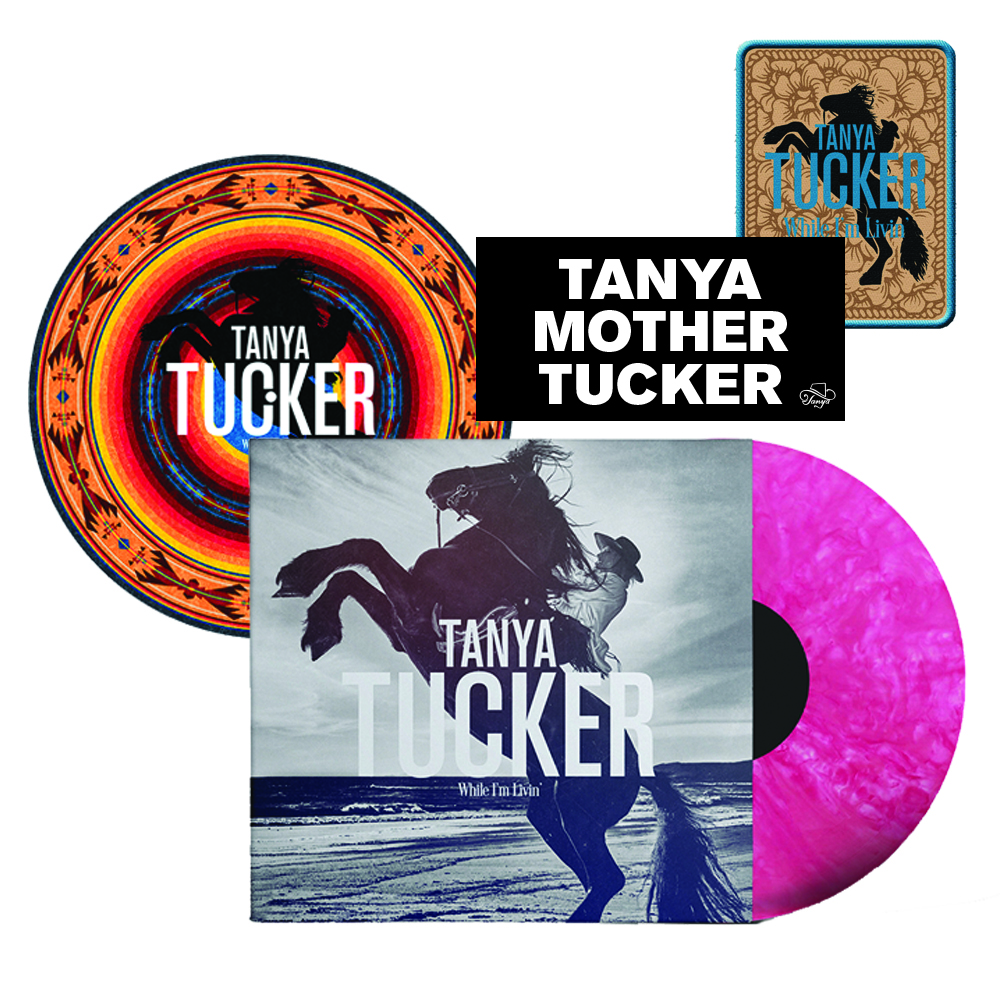 "Signed or Unsigned Bubblegum Vinyl LP + Turntable Mat (optional) + Woven Patch (4"" x 3"") + Bumper Sticker"