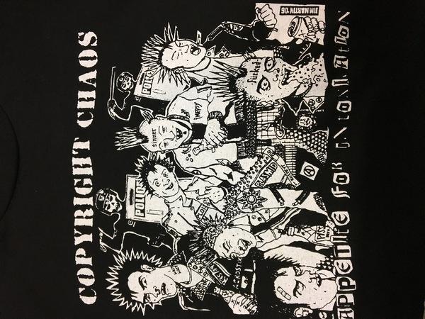 Copyright Chaos Appetite Shirt