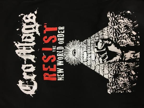 Cro-mags Resist The new world order shirt
