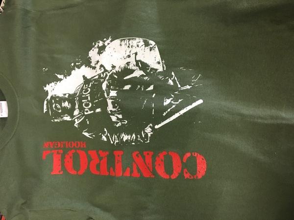Control hooligan shirt