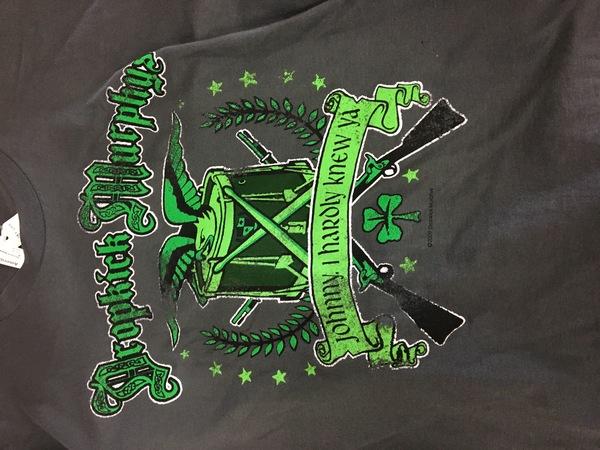 Dropkick Murphy's johnny I hardly knew ya shirt