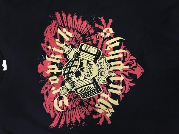 Dropkick Murphy's Russian Tour shirt